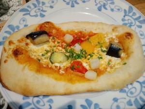 2011.08.05野菜ピザ
