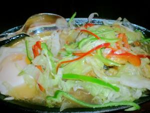 カキ野菜炒め