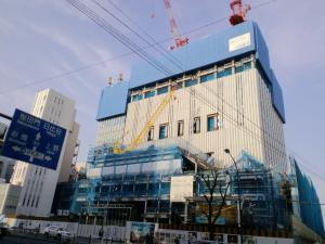 201203新しい歌舞伎座建設中
