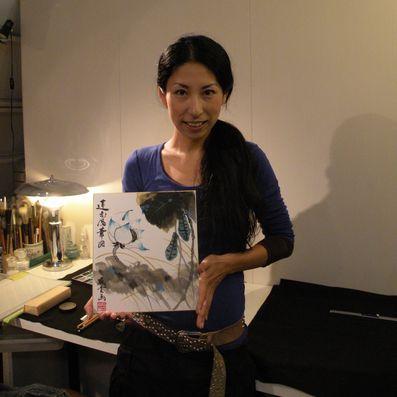 2010 誌上展 蓮花風華図