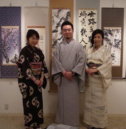 201106 嵐酔水墨画教室展