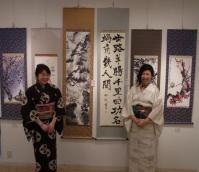 2011年度 教室展 滝 桜