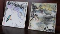 2011 色紙展 藤 浮見堂