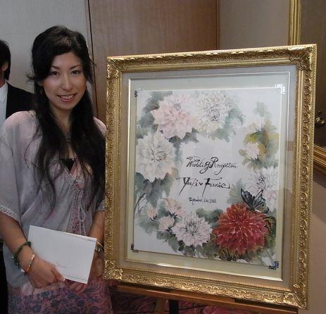 201109 Wedding board 水墨
