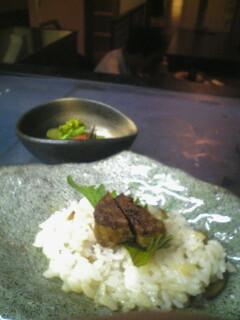 フォアグラ バルサミコ寿司