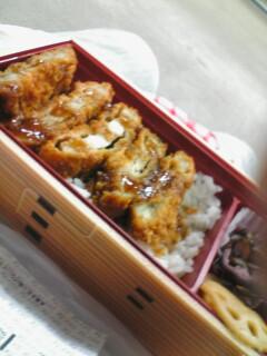マグロかつ弁当(空弁)