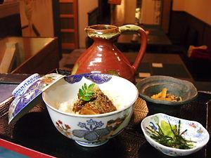 トロサーモン漬丼+黄金だし茶漬けセット