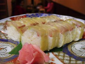 活き鯵棒寿司♪(お持ち帰り有り)