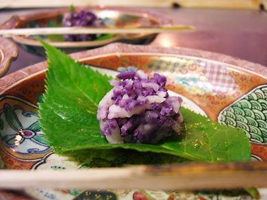 和菓子・紫陽花