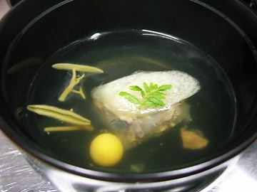 スッポン葛豆腐♪