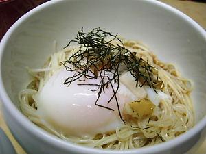 温玉あわび素麺♪(コシがある最高級品使用)