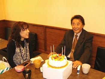 お誕生日おめでとう御座います♪