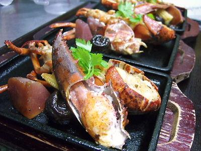 オマール海老のステーキ