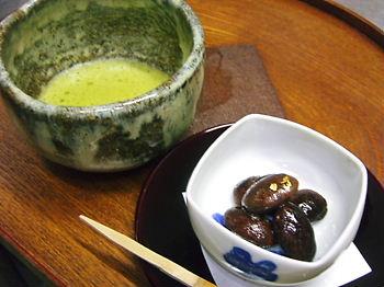 お抹茶セット(濃茶)
