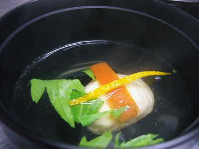 椀 柚子胡椒真蒸