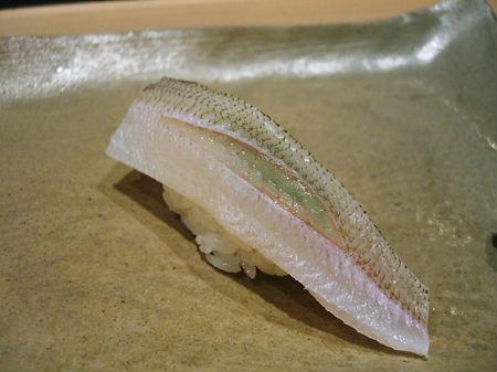 カマスの寿司