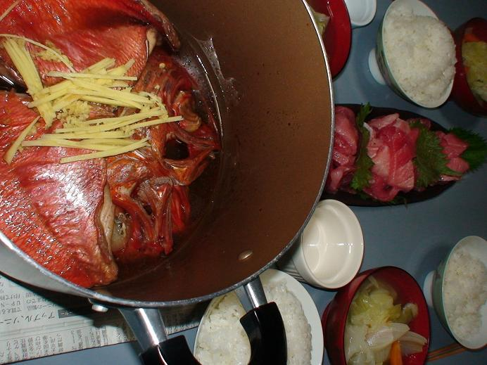 千里水産の金目鯛煮
