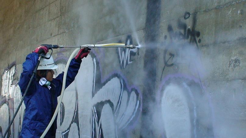 トンネルや床の汚れを消す清掃クリーニング洗浄でエコで安い方法