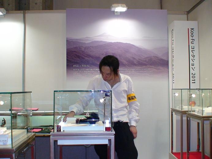 Jewelry exhibition ジュエリー展示会