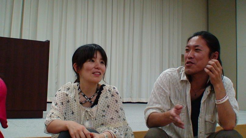 全国ブロガー協会平島氏とカリスマグルメブロガー武田松姫