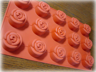 ローズ型ケーキ4