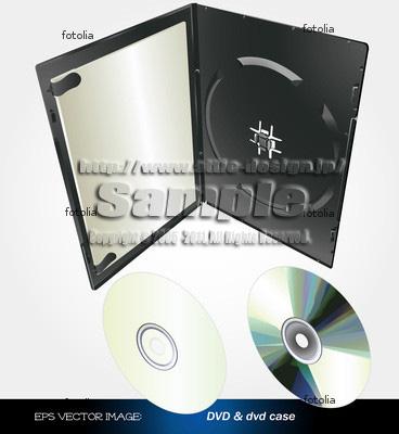 イラスト DVDトールケース