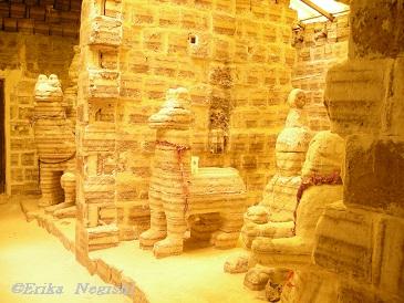 プラヤブランカ塩の像?