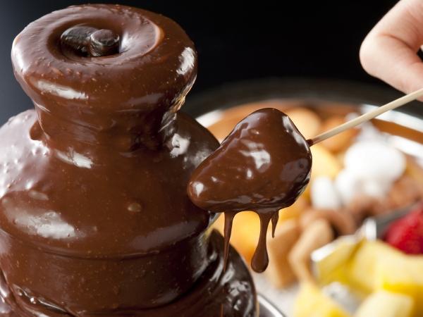 チョコファウンテンいちご