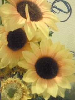 ひまわり造花