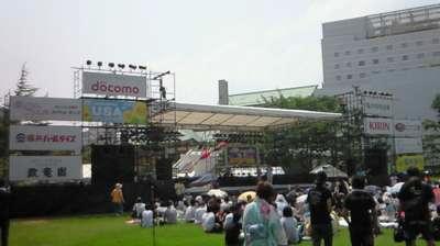 福井市中央公園ステージ
