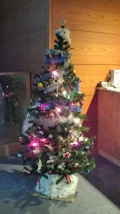 クリスマスツリ
