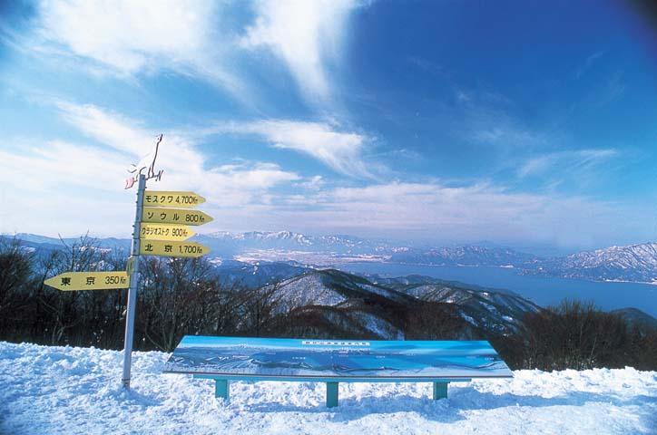 海の見える今庄365スキー場