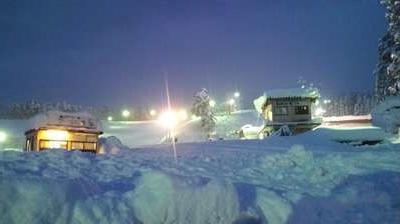 比較的斜面がなだらかで初心者向けのコース 雁が原スキー場