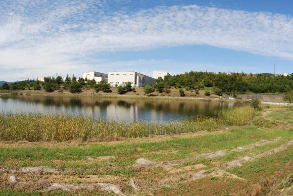 長野県上田市溜池