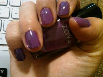 zoya kieko nailpolish nails