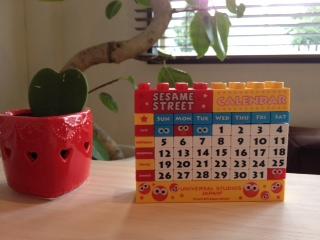 USJブロックカレンダー