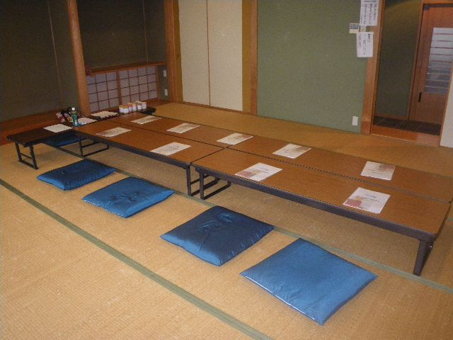 編み物講習会会場