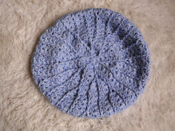 デニムベレー帽2
