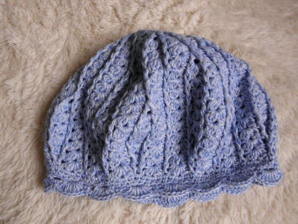 デニムベレー帽