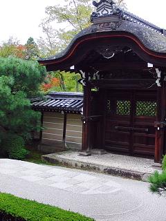 永観堂庭市松