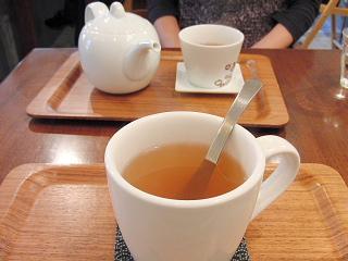 ゆずほうじ茶