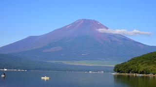 24日朝富士山