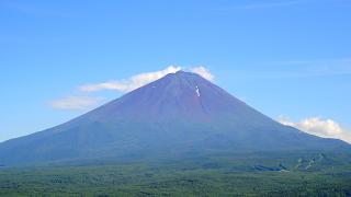 紅葉台見晴らし台富士山