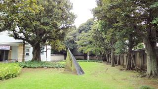 原美術館庭