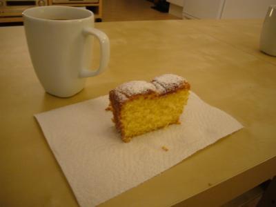 サフランケーキ
