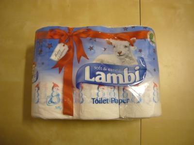 クリスマス仕様おトイレの紙