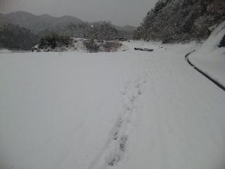 極寒布目ダム6