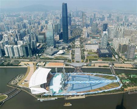 広州アジア大会開会式会場