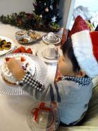 クリスマスのティータイム