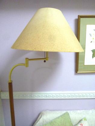 ランプシェードのリメイク